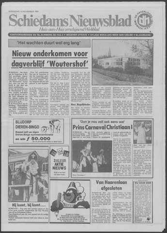 Schiedams Nieuwsblad 1984-11-14