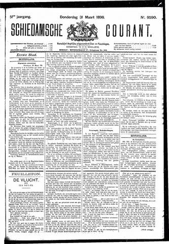 Schiedamsche Courant 1898-03-31
