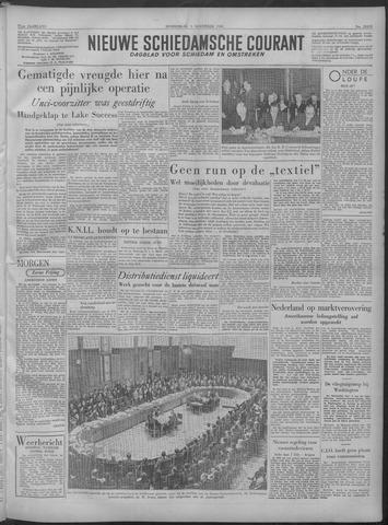 Nieuwe Schiedamsche Courant 1949-11-03