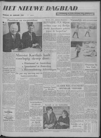 Nieuwe Schiedamsche Courant 1961-01-20