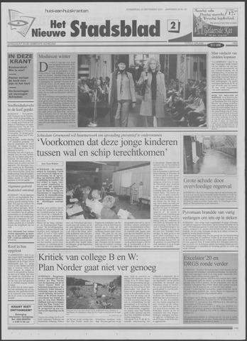 Het Nieuwe Stadsblad 2001-09-20