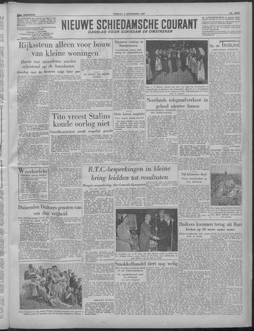 Nieuwe Schiedamsche Courant 1949-09-02