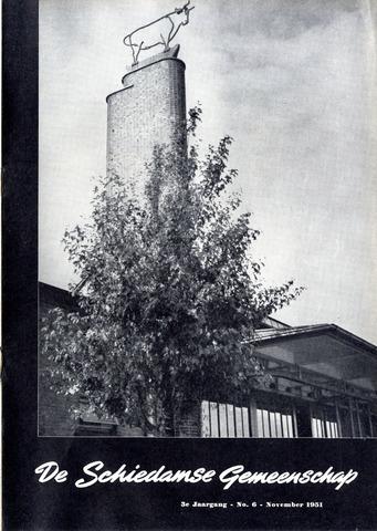 Schiedamse Gemeenschap (tijdschrift) 1951-11-01