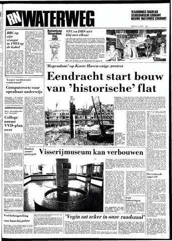 Rotterdamsch Nieuwsblad / Schiedamsche Courant / Rotterdams Dagblad / Waterweg / Algemeen Dagblad 1983-04-12