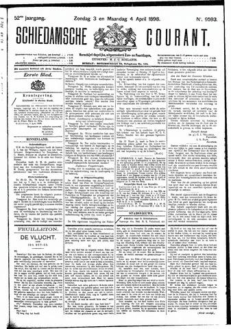 Schiedamsche Courant 1898-04-04