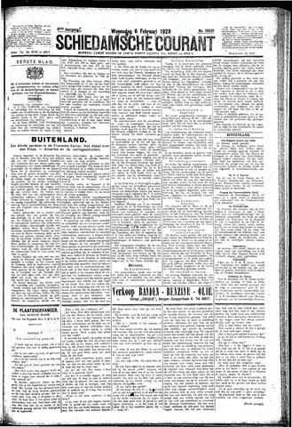 Schiedamsche Courant 1929-02-06