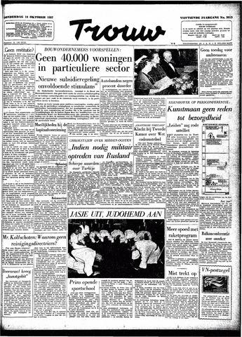 Trouw / De Rotterdammer 1957-10-10