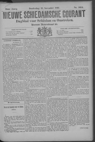 Nieuwe Schiedamsche Courant 1897-11-25