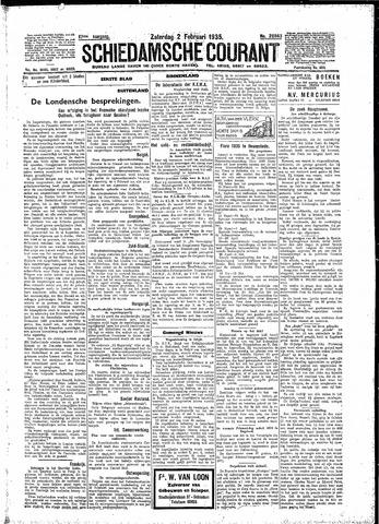 Schiedamsche Courant 1935-02-02