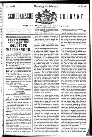 Schiedamsche Courant 1881-02-14