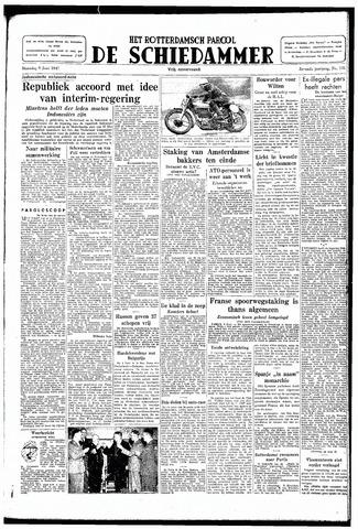 Rotterdamsch Parool / De Schiedammer 1947-06-09
