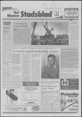 Het Nieuwe Stadsblad 1998-04-15