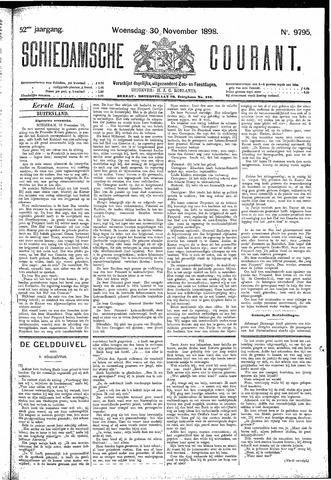 Schiedamsche Courant 1898-11-30