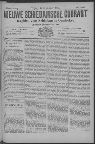 Nieuwe Schiedamsche Courant 1897-09-24