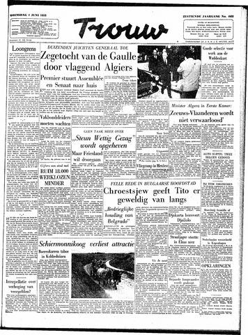 Trouw / De Rotterdammer 1958-06-04