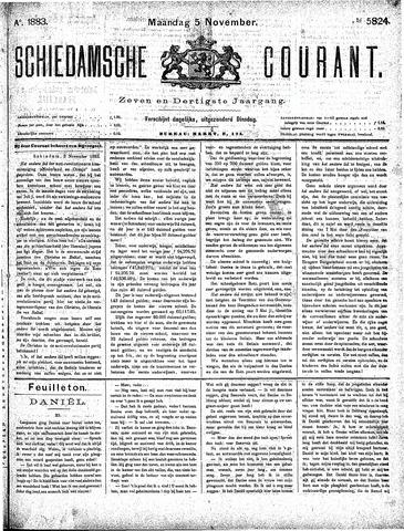 Schiedamsche Courant 1883-11-05