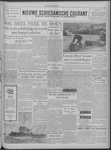 Nieuwe Schiedamsche Courant 1958-03-08