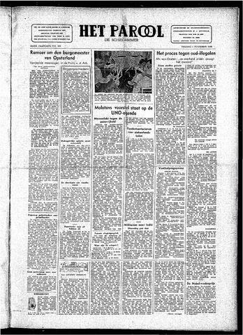 Rotterdamsch Parool / De Schiedammer 1946-11-01