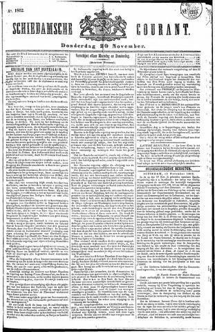 Schiedamsche Courant 1862-11-20