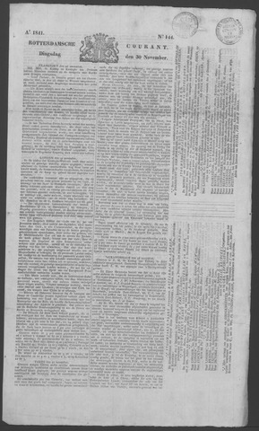 Rotterdamse Courant 1841-11-30