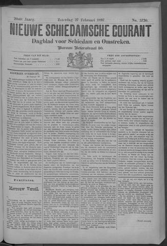 Nieuwe Schiedamsche Courant 1897-02-27