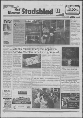 Het Nieuwe Stadsblad 2000-11-22