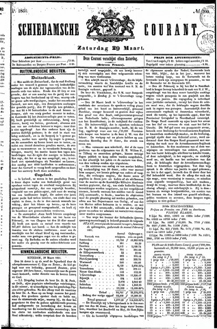 Schiedamsche Courant 1851-03-29