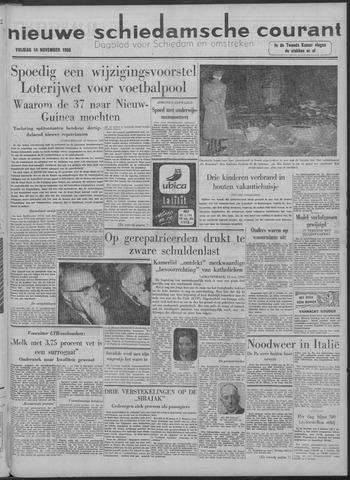 Nieuwe Schiedamsche Courant 1958-11-14