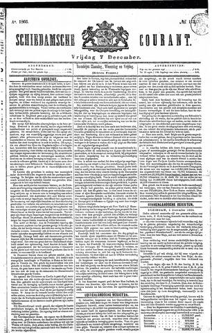 Schiedamsche Courant 1866-12-07
