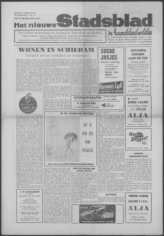 Het Nieuwe Stadsblad 1961-02-17