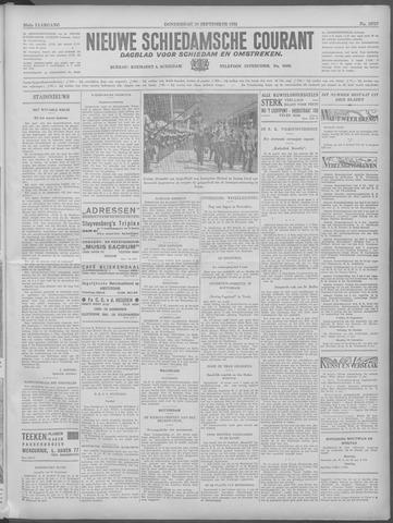 Nieuwe Schiedamsche Courant 1933-09-28