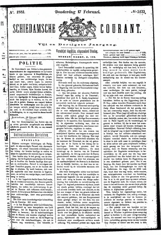 Schiedamsche Courant 1881-02-17
