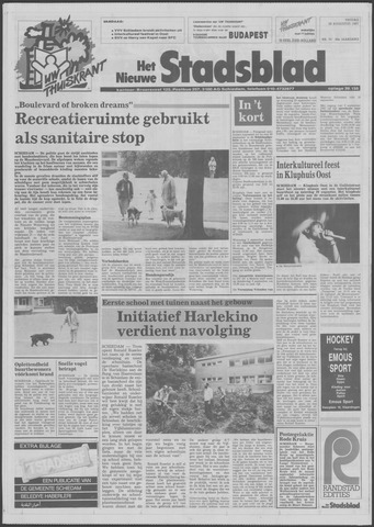 Het Nieuwe Stadsblad 1987-08-28