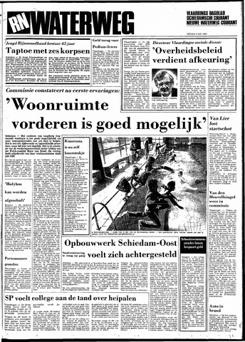 Rotterdamsch Nieuwsblad / Schiedamsche Courant / Rotterdams Dagblad / Waterweg / Algemeen Dagblad 1983-05-06