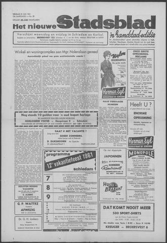 Het Nieuwe Stadsblad 1961-07-21
