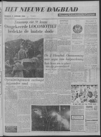 Nieuwe Schiedamsche Courant 1962-01-09