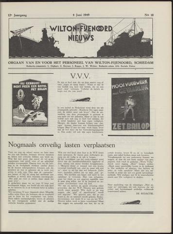 Wilton Fijenoord Nieuws 1949-06-01