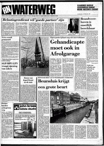 Rotterdamsch Nieuwsblad / Schiedamsche Courant / Rotterdams Dagblad / Waterweg / Algemeen Dagblad 1987-02-18