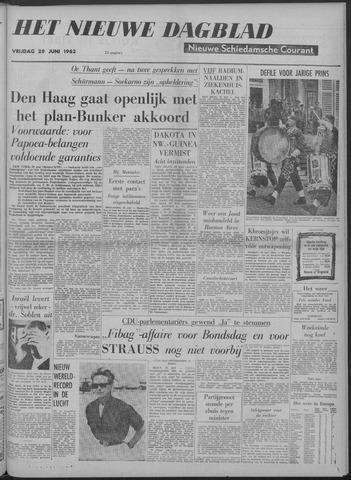 Nieuwe Schiedamsche Courant 1962-06-29