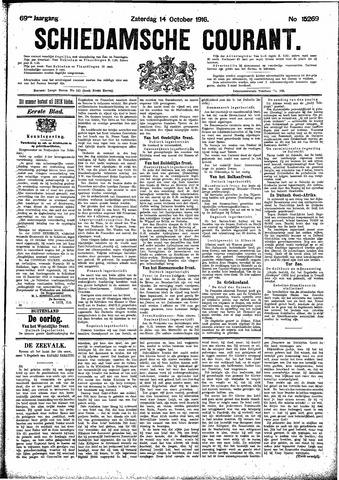 Schiedamsche Courant 1916-10-14