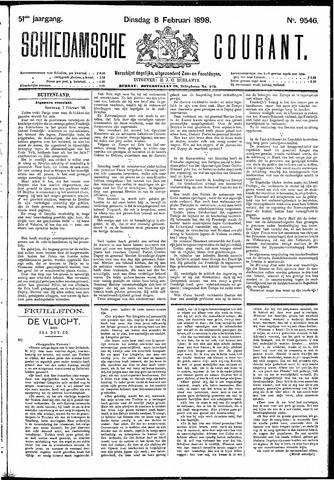 Schiedamsche Courant 1898-02-08