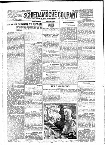 Schiedamsche Courant 1935-03-27