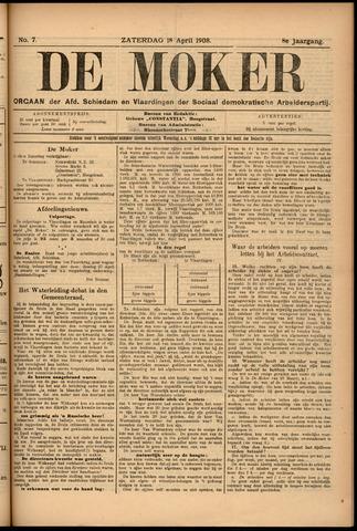 De Moker 1908-04-18