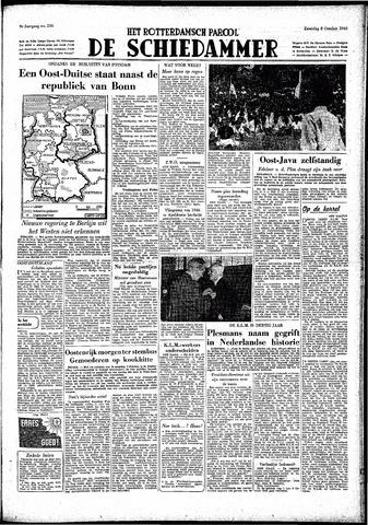Rotterdamsch Parool / De Schiedammer 1949-10-08