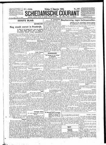 Schiedamsche Courant 1935-08-09