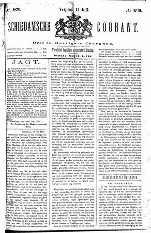 Schiedamsche Courant 1879-07-11