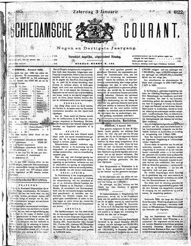 Schiedamsche Courant 1885-01-03