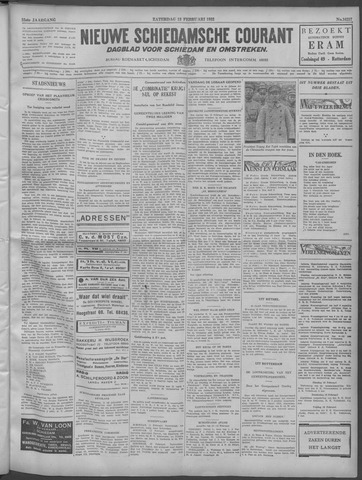Nieuwe Schiedamsche Courant 1932-02-13
