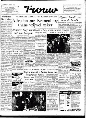 Trouw / De Rotterdammer 1958-05-22