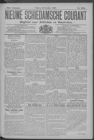 Nieuwe Schiedamsche Courant 1909-10-29